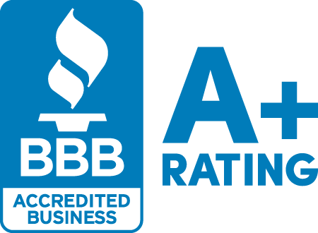 BBB A+ rating for professional liability law firm